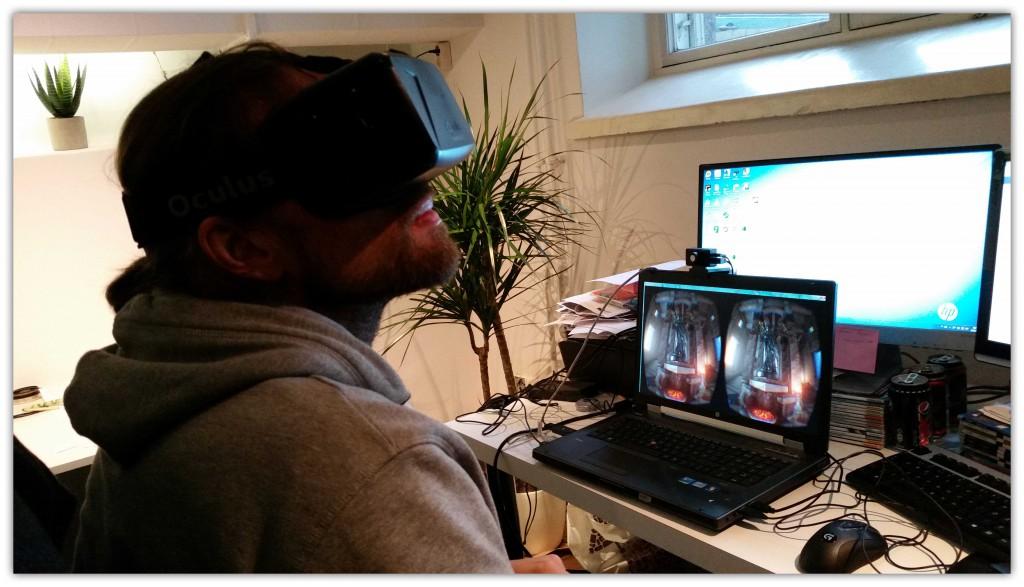 Oculus-Rift-Virtuaalikypärä