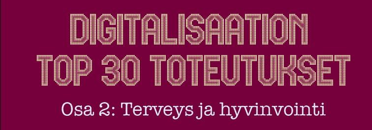 Digitalisaation TOP30 toteutukset osa 2 kansikuva_v2