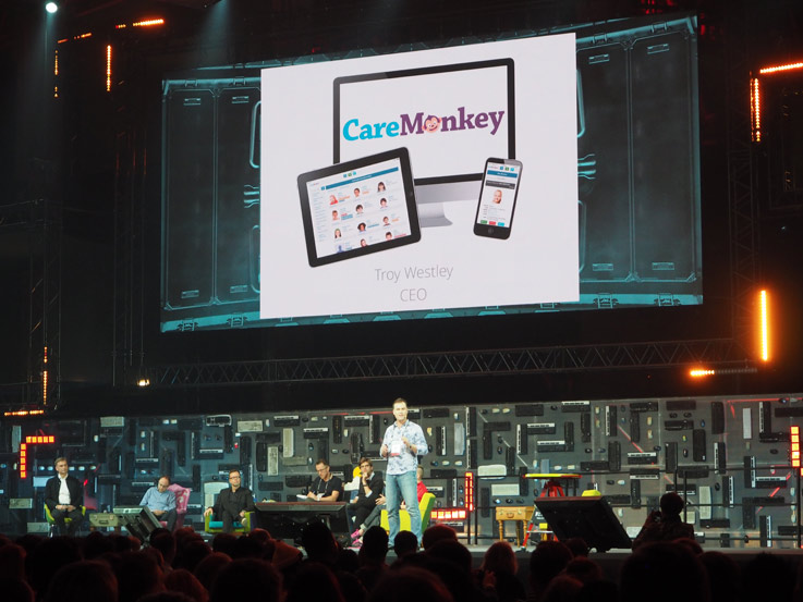 Caremonkey-slush-pitch