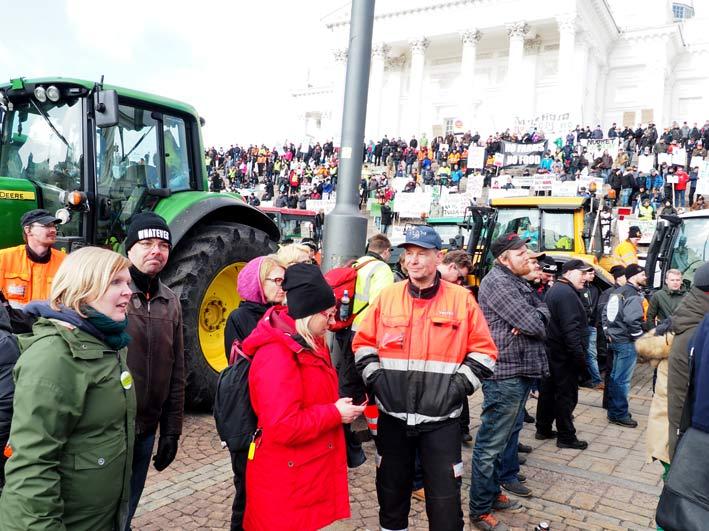 Viljelijä-protesti