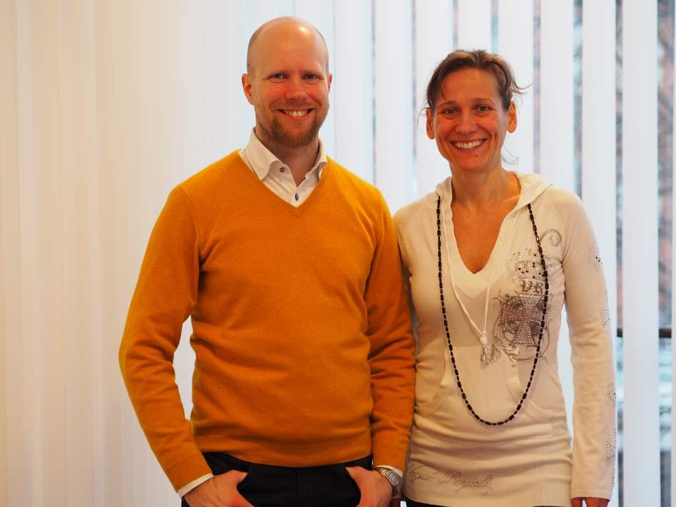 Haastattelussa Taneli Eisto ja Amy Skogberg