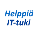 Helppiä IT-tuki logo