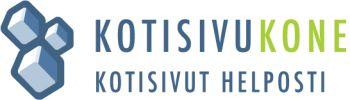 Kotisivukone logo