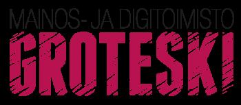 Mainostoimisto Groteski logo