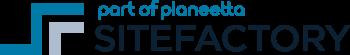 Sitefactory - Part of Planeetta logo