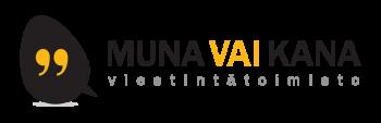 Viestintätoimisto Muna vai Kana Oy logo